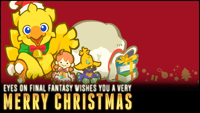 Final Fantasy Christmas.Eyes On Final Fantasy Forums