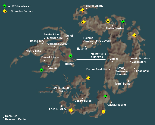 Eyes on Final Fantasy - Final Fantasy VIII Maps